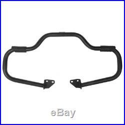 Sturzbügel für Harley Davidson Dyna Street Bob 06-17 Craftride Mustache schwarz