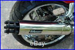 Tailgunner Exhaust universal slip on muffler street harley custom rod bobber tip
