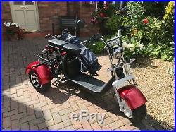 Three Wheel Electric Golf Buggy/street Legal Harley Trike
