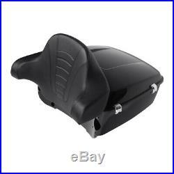 Tour Pak Pack Trunk Backrest 6.5 Speakers For Harley Ultra Street Glide 14-19