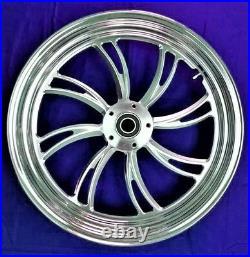 Twisted Vortex Billet Front Wheel 16 Harley Electra Glide Road King Street