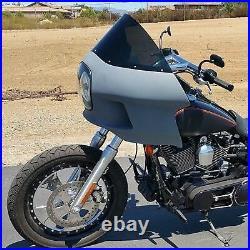 Upper Fairing 7 Headlight Mount Complete kit-Harley Dyna Low Rider Street Bob