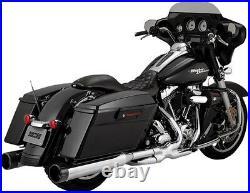 Vance & Hines 4.5 Raider Exhaust Mufflers Harley Electra Glide Road King Street
