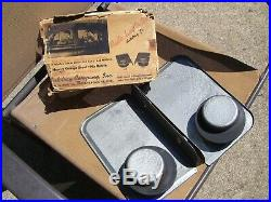 Vintage Original 1940s Car-hop drive in auto trays scta GM Ford Chevy hot rod