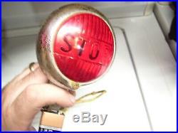 Vintage Stop light tail lamp HARLEY KNUCKLEHEAD FLATHEAD PANHEAD BOBBER HOT ROD