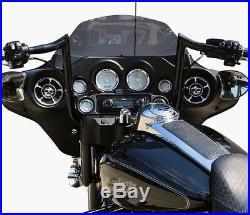 Yaffe Black 12 Monkey Handlebar Package 2008-2013 Harley Street Electra Glide