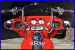 Yaffe Chrome 14 Monkey Handlebar Package 2008-2013 Harley Street Electra Glide