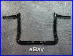 Yaffe Inspired Black 12 X 1 1/4 Harley Ape Hangers For Street Glide